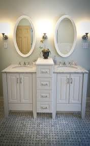 double sink ideas for small bathrooms. like this idea for double small sink classic vanity - traditional bathroom grand rapids by melissa suchowolec girls bath ideas bathrooms t