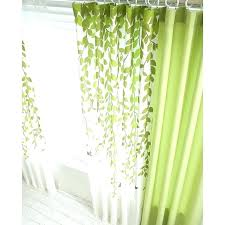 bedroom curtains lime green curtains green and white leaf print poly cotton blend country bedroom curtains