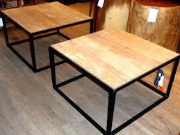 industrial wood coffee table wood and metal coffee table wood coffee tables and end tables industrial
