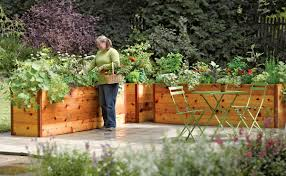 Small Picture Elevated Garden Beds Plan Garden Ideas How To Elevated Garden Beds