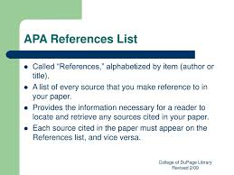 Ppt Apa Citation Style Powerpoint Presentation Id157392