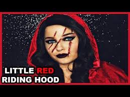 little red riding hood easy makeup tutorial