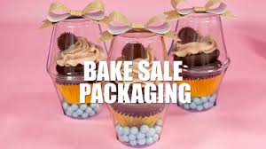 Cupcake Ideas For Bake Sale Reeses Cupcake Recipe With Bake Sale Packaging Ideas Youtube