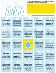 Office Bingo Deskercise Bingo Free Printable Wholefully