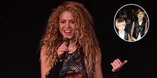 <b>Shakira</b> and her kids Sasha and Milan are El Dorado tour lookalikes