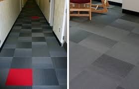 university student hall flooring installation by office one