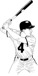 Baseball Coloring Pages Baseball Kids Printables