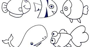 Ocean Animals Color Pages Easy Animal Coloring Pages Coloring Pages Ocean Animals Coloring