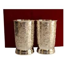 gift novelties set of 2 hand crafted silver plated tumblers with box ebay link