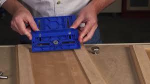 Kitchen Cabinet Hardware Jig Cabinet Hardware Jig Youtube