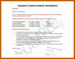Sample Of Employee Reference Letter 7 8 Job Reference Template Resumesheets