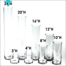 12 inch tall cylinder vases whole ea 6 x clear glass cylinder vases wedding whole 12 12 inch tall cylinder vases