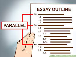 easy ways to write an essay outline wikihow image titled write an essay outline step 9