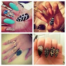 cute nail designs for short acrylic nails