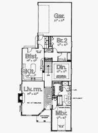 narrow lot floor plans luxury 60 elegant narrow lot house plans single story collection of narrow