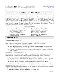 Real Estate Agent Resume Extraordinary Broker Resume 28 Resume Format Downloadable Real Estate Broker
