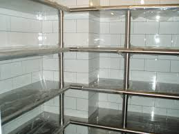 Stainless Steel Shelves Stainless Steel Kitchen Shelves Open Kitchen Shelving If You