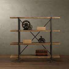 industrial antique furniture. American Country Style Antique Furniture For Old Industrial LOFT Iron Wood Bookcase Shelf Display Rack Shelving