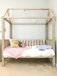 how to build a diy toddler house bed free plans