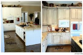paint kitchen cabinets before and afterPainting Kitchen Cabinets Before And After Picturesque Office