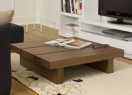 Large Wood Coffee Tables Glass Coffee Table With Ottomans Underneath Neptune Coffee Table