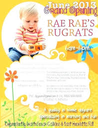 Child Care Brochure Samples Free Child Care Flyer Templates Word
