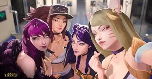 <b>K</b>/<b>DA</b>, League of Legends' pop girl group, explained - Polygon