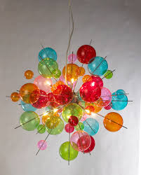 multicoloured sputnik chandelier