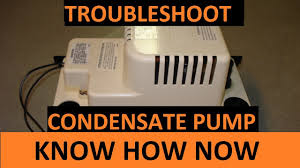 How to Troubleshoot a <b>Condensate Pump</b> - YouTube