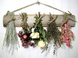 Dried Flower Rack Dried Floral Arrangement by summersweetboutique, $27.00