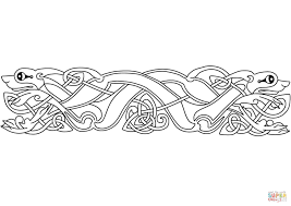 Celtic Animal Ornament coloring page | Free Printable Coloring Pages