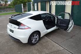 2012 Honda CR-Z Sport review (video) - PerformanceDrive