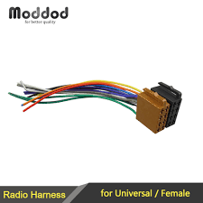 car stereo wiring adapter kits britishpanto Scosche Car Stereo Wiring Harness universal female iso wiring harness car stereo adapter connector striking