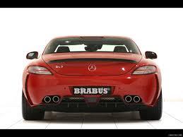 BRABUS SLS AMG Widestar - Rear Angle | Wallpaper #6
