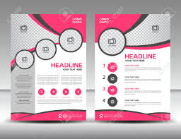 Sample Business Brochure Pink Business Brochure Flyer Design Layout Template In A24 Size 9