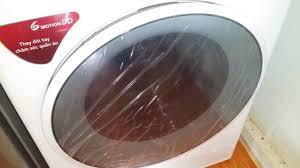 Xem Máy giặt LG inverter 8 kg FC1408S4W2 vắt. - YouTube