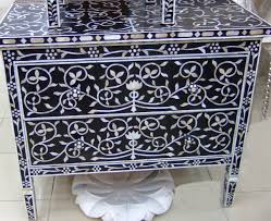 Lovely Ideas For Bone Inlay Furniture Design Bone Inlay Furniture