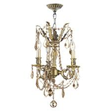 windsor collection 3 light antique bronze finish and golden teak crystal mini chandelier 13 d x