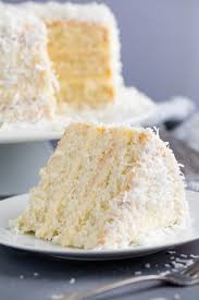 The Most Amazing Coconut Cake