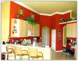 red kitchen wall colors. Famous Kitchen Wall Color With Oak Cabinets Images - Art .. Red Colors