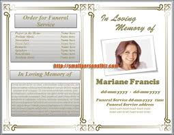 funeral pamphlet 6 free funeral program templates microsoft word website