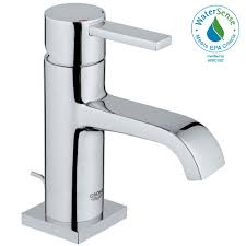 grohe bathroom sink faucets. Allure Single Hole Handle Low-Arc Bathroom Faucet In StarLight Chrome Grohe Sink Faucets H