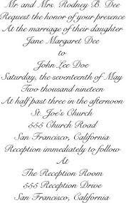 Wedding Inviting Words Best Wedding Invitation Wording Examples