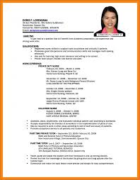 5 6 Parts Of Resume Proposalbidsample
