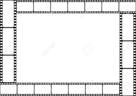 Film Template For Photos Film Template Border Movie Theater Frame Vector