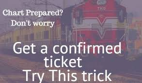 Current Reservation After Chart Preparation Online Latest Rule Of Current Booking Availability Indian Railways
