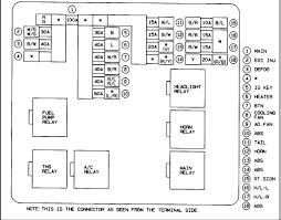 how do you change main 100 amp fuse in a 98 mazda 626? 99 mazda 626 fuse box diagram at 2001 Mazda 626 Fuse Box