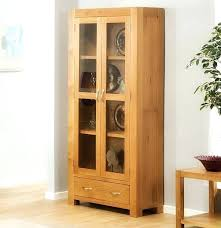 oak corner tv cabinet with glass doors kitchen spacious country 2 intended for cabinets ideas
