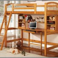 bunk bed desk combo plans bunk bed office