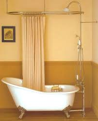 clawfoot tubs with showers best bathtubs images on bathroom half bathrooms and dream bathrooms clawfoot tub shower conversion kit review